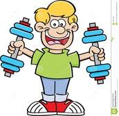 Tú debes ejercicios, porque es muy saludable.