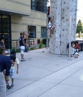 Canada Day And Rock Climbing