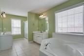 Huge Master Bath & closet