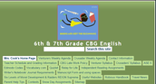 6th and 7th Grade CBG English