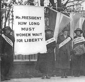 What is Women Suffrage?