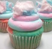 Cotton candy cupcake 95% off originally $3.15 now $0.15