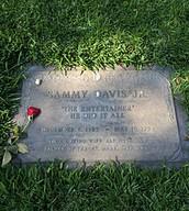 Sammy Davis Jr's grave