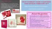Fun Valentine's Info