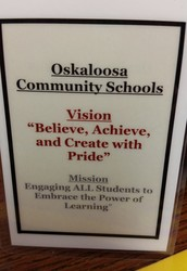 Oskaloosa Vision/Mission Lanyard Cards