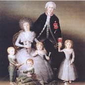 La famiglia dei duchi di Osuna, 1788