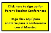 Parent Teacher Conference Sign Up
