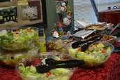 Food Provided for the Teachers for Teacher Appreciation Day