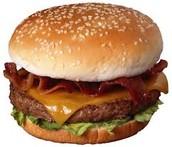 Yo almorce muchos hamburguesas.