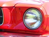 A Round Headlight