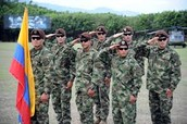 History:Who did Colombians serve in the military?