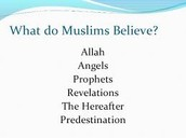 listed beliefs