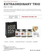 May Hostess Special - Extraordinary Trio