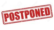 Literacy Meetings Postponed
