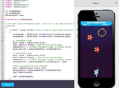 Build an iPhone Game in Your Browser (High School)