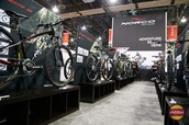 What's the biggest bike cycling trade show in the U.S?