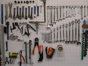 All kinds of tools.