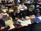 iPad + Picture + QR + Writing = Fun!