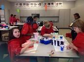 Mrs. Block's 3D art kids' projects