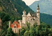Germany Castle and Mountains