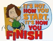 FINISH STRONG!!!