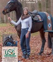 Mooie paarde deken uit de Navojp Colletion van USG