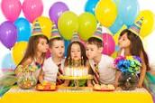 Lots of birthdays, lots of cake!