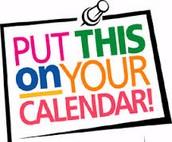 Saturday Chorus Calendar