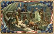 The Boston Tea Party of 1773