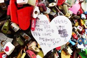Namsan Tower & Love Lock Bridge
