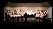 Middle School Chorus Performs