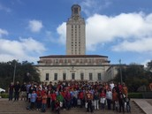 Foster ES 5th Graders Take Over UT Austin for the Day