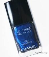 Blue Nail Polish!