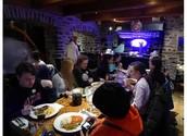 Le Dejèuner au Restaurant