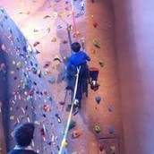 A Rock Wall Climbing Birthday Party At Life Time Fitness