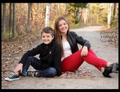 My children Hannah and Nicholas