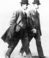 Orville (left) Wilbur (right)