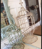 Iron Candle Urns ~ $105 and $65