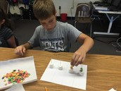 Doing Place Value with Fruit Loops