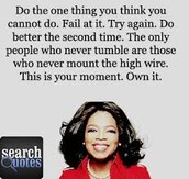Famous Quotes From Oprah
