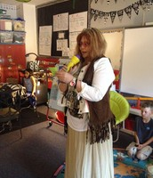 Ms Logue--our assistant principal--snap, snap