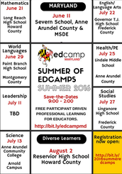 The Summer of Edcamps