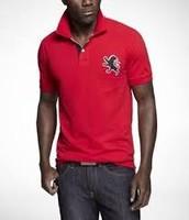 Camisa de polo rojo Express