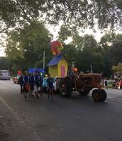 Homecoming Spirit at the parade!