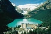 El Lago Louise, Alberta