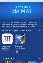 Feedback on the success of the mobile application La Matinale du Monde, by gad & ams
