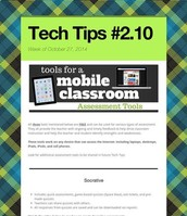 Assessment Tools for Mobile Classrooms