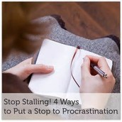 Some of my favorite ways to avoid Procrastination!