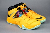 Yellow Lebron 7 Soldier
