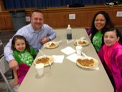 The Goldsmith's at the PTA VIP Breakfast!